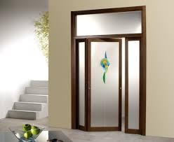 wooden glass door designs