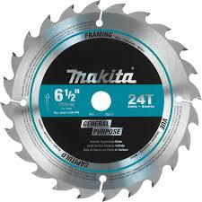 6 1 2 inch circular saw blades. makita 741402-9ap 6-1/2-inch 24 tooth atb thin kerf saw blade with 5/8-inch arbor - circular blades amazon.com 6 1 2 inch