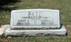 Rowena Mabry Pate (1860-1938) - Find A Grave Memorial