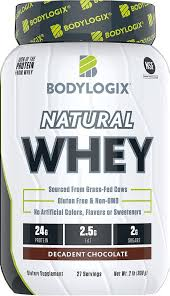 Bodylogix Natural Whey Decadent Chocolate, 2 lbs - Kroger