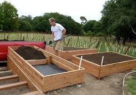 Small Picture Raised bed vegetable garden design