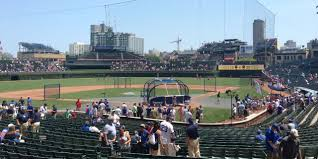 Chicago Cubs Wrigley Field Seating Chart Interactive Map