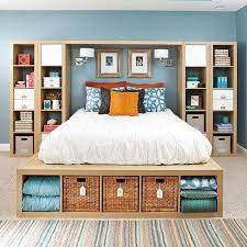 #9 create efficient bedroom storage in a graphic natural manner