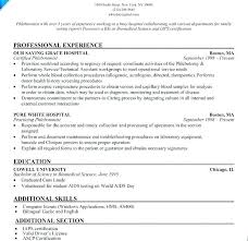 Phlebotomy Resume Templates Resume Examples Resume Templates Resume