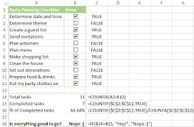 tax preparation checklist excel how to create a checklist in excel geocvc co
