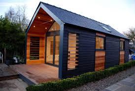 Modern Garden Office Modern Pitched Roof Garden Office R