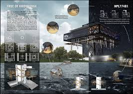 Design Sheets Of Architecture Students Archasm Hyde Park Library Design Competition 2017 Work