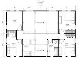 modern loft floor plans