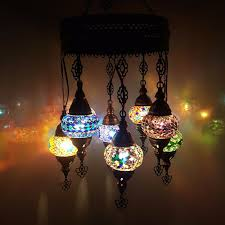 Moroccan Light Fixture Name Details About Turkish Moroccan Arabian Glass Mosaic Chandelier Lamp Light 8 Bulb Uk Seller
