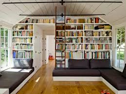 small library design for minimalist home adorable home library