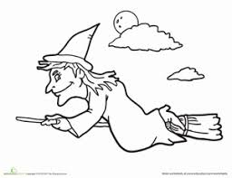 Small Picture Wicked Witch Worksheet Educationcom