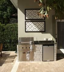 dramatic outdoor kitchen ideas for small spaces