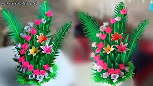 Paper Flower Bouquet Tutorial Paper Flower Bouquet Wrapping Tutorial Birthday Flower
