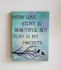 Canvas Love Quotes