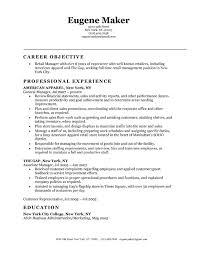 Sample Resume For Retail Manager Retail Resume Objective Resume Skills And Ability How To Create A 74