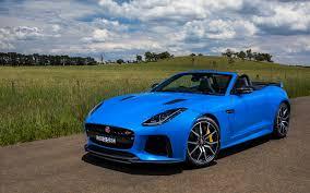 Light Blue Jaguar Pictures Jaguar 2016 F Type Svr Convertible Light Blue 3840x2400