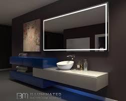 above mirror bathroom lighting. Bathroom Light Above Mirror Beautiful Perfect Makeup With Lighted \u2014 Kool Lighting X