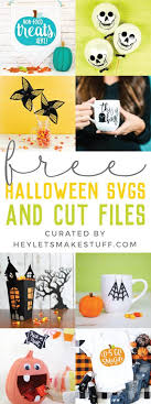 Easy to do projects using vinyl, paint, glitter, fabric, and other easy to find products. Free Halloween Svgs And Cut Files Hey Let S Make Stuff
