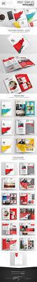 Company Portfolio Template Classy Annual Report Brochure 48 Page Indesign Template Corporate