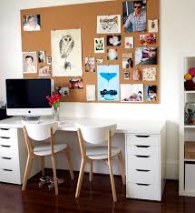 another ikea desk combination table top and alex draw units