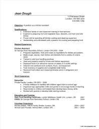 Cover Letter Example Kitchen Helper Cover Letter Resume Examples