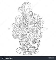 Coloring Pages For Adults Coffee Google