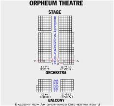 Orpheum Theater Mn Seating Chart Orpheum Theater Minneapolis