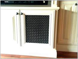 cabinet doors inserts dress up your kitchen with easy to add door wire for grilles decorative mesh