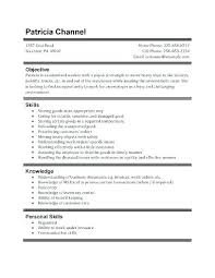 Resume Template High School Student First Job Job Resume Template