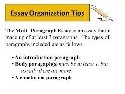Essay Organization Tips Ppt Video Online Download
