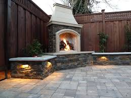 fireplaces designs outdoor fireplace outside brick