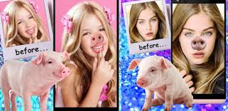 <b>Pig</b> Face Nose Snap <b>Funny</b> Photo Editor <b>Funny</b> Selfie - Apps on ...