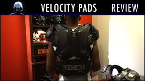 Xenith Velocity Shoulder Pad Review Ep 256
