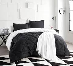 black and white bed covers. Contemporary White BlackWhite King Comforter  Oversized XL Bedding Throughout Black And White Bed Covers