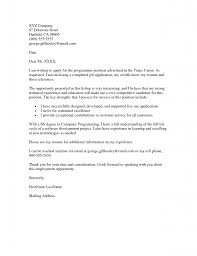 email cover letter for job application  template
