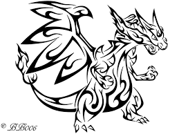 Small Picture Pokemon Coloring Pages Mega Charizard Ex Mega Charizard Y LineArt