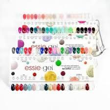 Essie Gel Colors Chart Details About Essie Gel Polish Color Sample Chart Palette Display