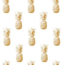 gold pineapple clipart. gold pineapple seamless background. vector art illustration clipart p