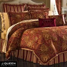 scarlet jacobean comforter bedding by j queen new york