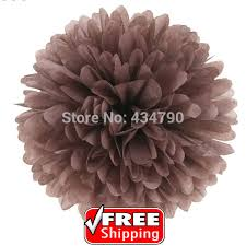 Hanging Paper Flower Balls 20pcs 8 20cm Cheap Brown Hanging Paper Pom Poms Uk Holiday