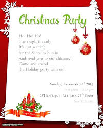 Company Christmas Party Invites Templates Work Holiday Party Invitation Wording Sulg Pro