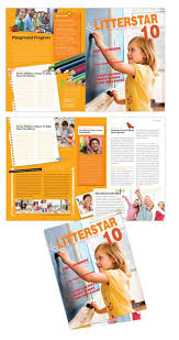 Learning Center Elementary School Brochure Design School