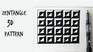 Zentangle Patterns Step By Step Amazing Decorating Design