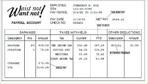 Fake Paycheck Stub Template How Create Pay Stubs 8 Make A Timeline