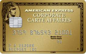 Amex gold cardholders will save 2.7% on all purchases made outside the united states with the gold card. Corporate Gold Card American Express Canada