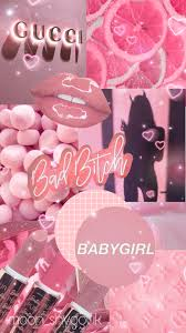 wallpaper pink baddie Image by 𝚙 𝚕 𝚞 𝚝 𝚘