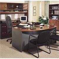 bush business furniture series bow. Bush Business Series C 4-Piece U-Shape Bow-Front Desk In Hansen Cherry Furniture Bow R