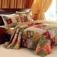 Country Cowboy Horse Quilt Handmade Queen Size Bedding By American ... & Country Quilts Twin Size French Country Quilt Bedding Sets Greenland Home  Fashions Antique Chic Bed Sets ... Adamdwight.com