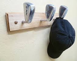 Golf Coat Rack Golf Club Coat Rack Etsy 17