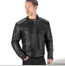 viking cycle skeid black leather jacket product 130 99